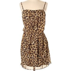 La Rok  Animal Print  Cocktail Dress